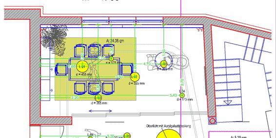 CAD Lichtplanung