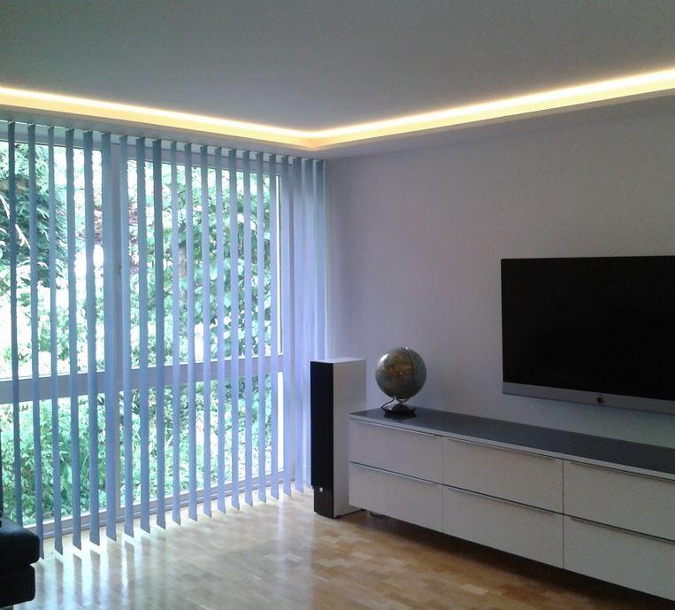 beleuchtung im wohnbereich wohnzimmer. Black Bedroom Furniture Sets. Home Design Ideas